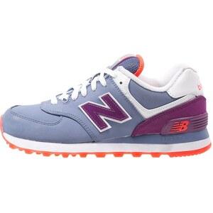 New Balance WL574 Sneaker low blau/lila/orange