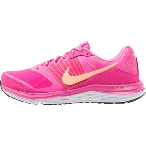 Nike Performance DUAL FUSION X Laufschuh Dämpfung pink flash/sunset glow/pink pow/fuchsia glow