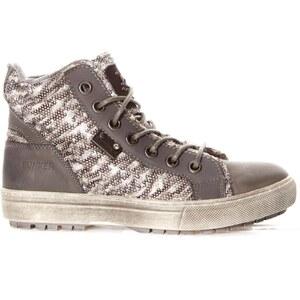 Bunker Blues - Sneakers mit Lederanteil - grau