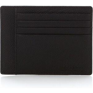 Le Tanneur Porte papiers 3 poches - noir