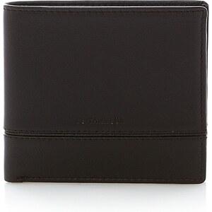 Le Tanneur Porte billets 2 poches - marron