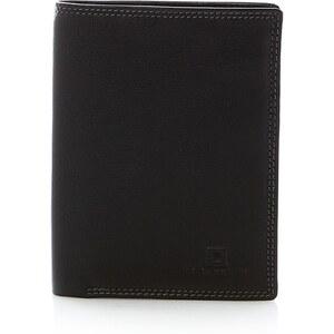 Le Tanneur Portefeuille poche monnaie rabat - noir