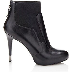 Guess Ozais - Boots en cuir - noir
