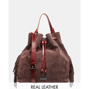 Pauls Boutique Paul's Boutique - Cora - Tasche aus Leder und Wildleder