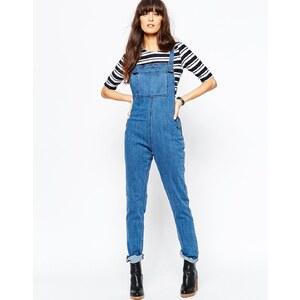 Vero Moda - Jeanslatzhose - Blau
