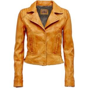 Guess Veste en cuir - orange
