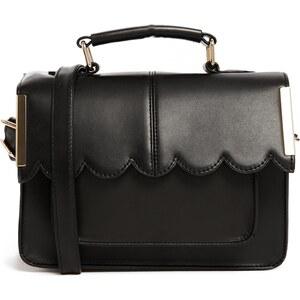 ASOS Mini Satchel Bag with Scallop Bar Detail