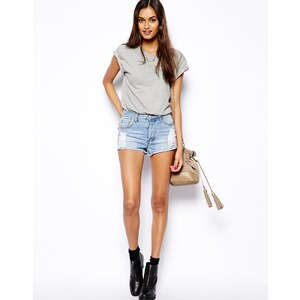 Glamorous Denim Distressed '90s Shorts