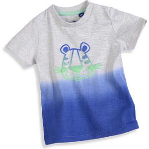 TOM TAILOR, Baby Boys T-Shirt, Grau melange/Blau, Größe 92