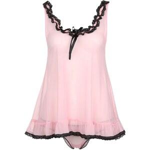 CALANDO SET Pyjama rose/black