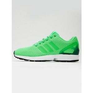 adidas Originals ZX Flux Flash Green Core Black Ftw White