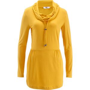 bpc bonprix collection Tunique manches longues en jersey jaune femme - bonprix