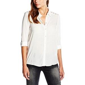 ONLY Damen Regular Fit Bluse Onlverga L/s Mesh Shirt Wvn