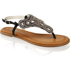 Sandale Buffalo schwarz