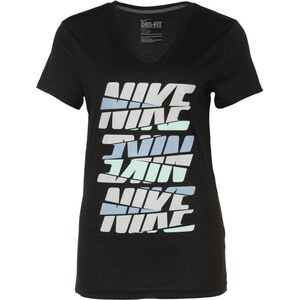 Nike T-Shirt REPEAT TEE schwarz