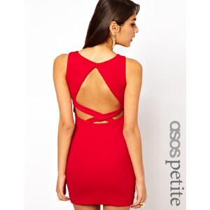 ASOS PETITE – Exklusives figurbetontes Kleid mit Rückenausschnitt