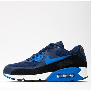 Nike WMNS Air Max 90 Essential Midnight Navy Soar Black Pure Platinum