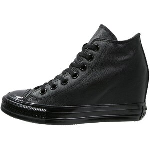 Converse CHUCK TAYLOR ALL STAR LUX MID Keilstiefelette black