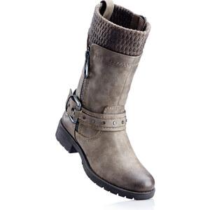 Bottes marron chaussures & accessoires - bonprix