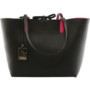 Beverly Hills Polo Club Sac shopping avec pochette assortie - noir