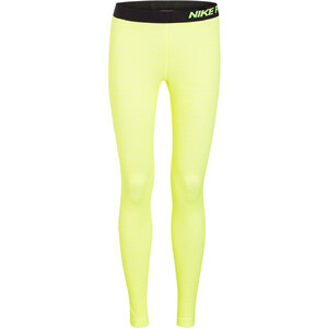 Nike Tights PRO HYPERWARM STRIPE gelb
