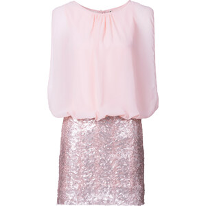 BODYFLIRT Kleid in rosa (Rundhals) von bonprix
