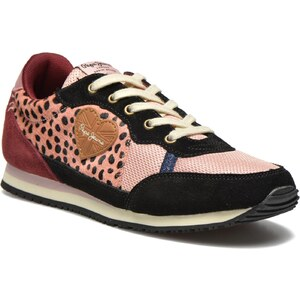 Pepe jeans - Sydney F - Sneaker für Damen / rosa