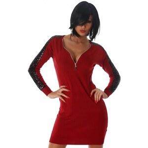 Robe Rouge Fashion ADELI - Cendriyon
