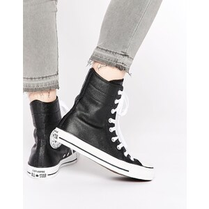 Converse - Chuck Taylor - All Star - Hohe Stiefelsneakers in Schwarz - Schwarz