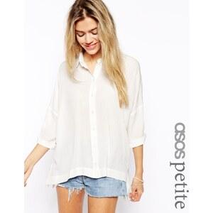 ASOS PETITE - Crinkle-Bluse - Khaki 17,99 €