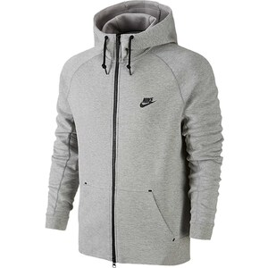 Nike NIKE TECH FLEECE AW77 - Sweat à capuche - gris