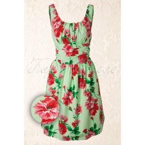 Vixen 50s Vintage Floral dress Green