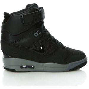 Nike AIR REVOLUTION SKY HI - Sneakers compensées - noir