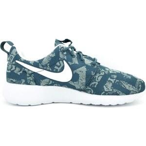 Nike Roshe one print - Baskets - bleu