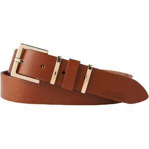 TOM TAILOR Gürtel »elegant leather belt with metal loops«