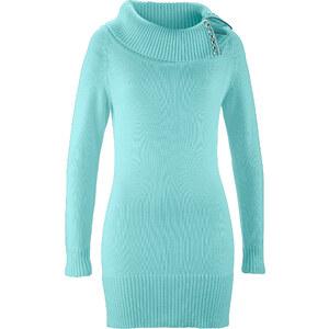 bpc selection Pull-tunique bleu manches longues femme - bonprix