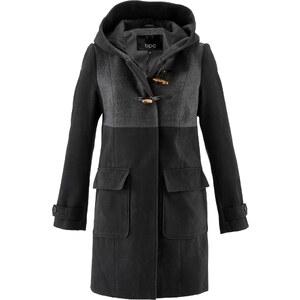 bpc bonprix collection Dufflecoat mit Kapuze in schwarz für Damen von bonprix