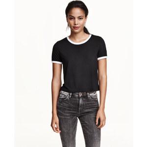 H&M Kurzes T-Shirt