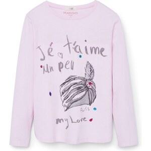 Mango Kids T-shirt - rose