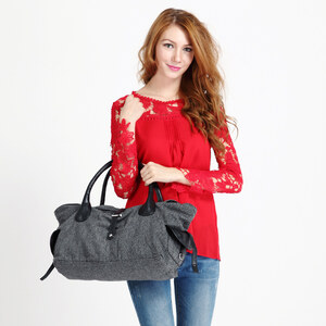 Lesara Hobo-Tasche aus Leinen