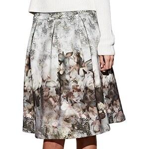 APART Fashion Damen A-Linie Rock Jerseyrock, Knielang