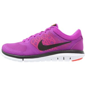 Nike Performance FLEX 2015 RUN Laufschuh Leichtigkeit vivid purple/black/hot lava/bright crimson/university red/white