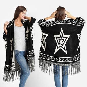 Lesara Cardigan avec motif étoiles