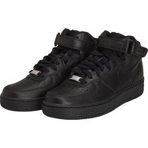 Nike Air Force 1 Mid Leather F / NOIR