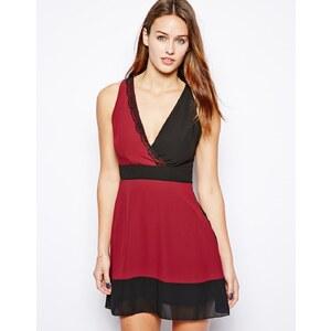 Wal G Wrap Front Dress