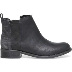 Eram boots plat noir gris