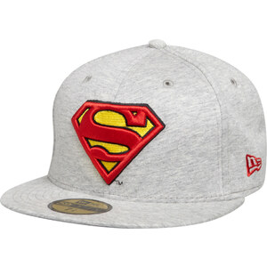New Era Casquette Fitted 59Fifty Jersey Character Superman / Gris