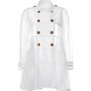 RED Valentino Tulle Trench Coat