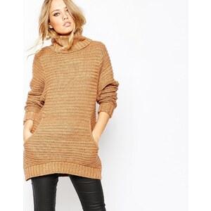 Y.A.S - Jane - Pullover mit langem Arm - Burro