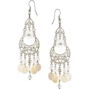 Lipsy Shell Charm Drop Earrings
